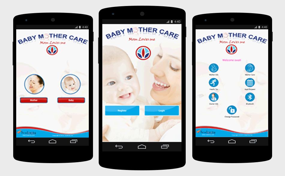 Ghiduri de alaptare pentru telefonul mobil (aplicatii Google Play).