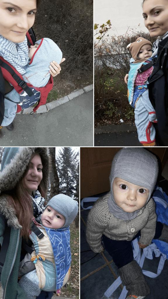 , Cum îmbrăcăm copilul pentru babywearing?
