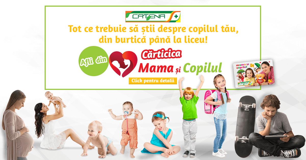"""Catena a lansat revistele """"Mama și copilul"""""""