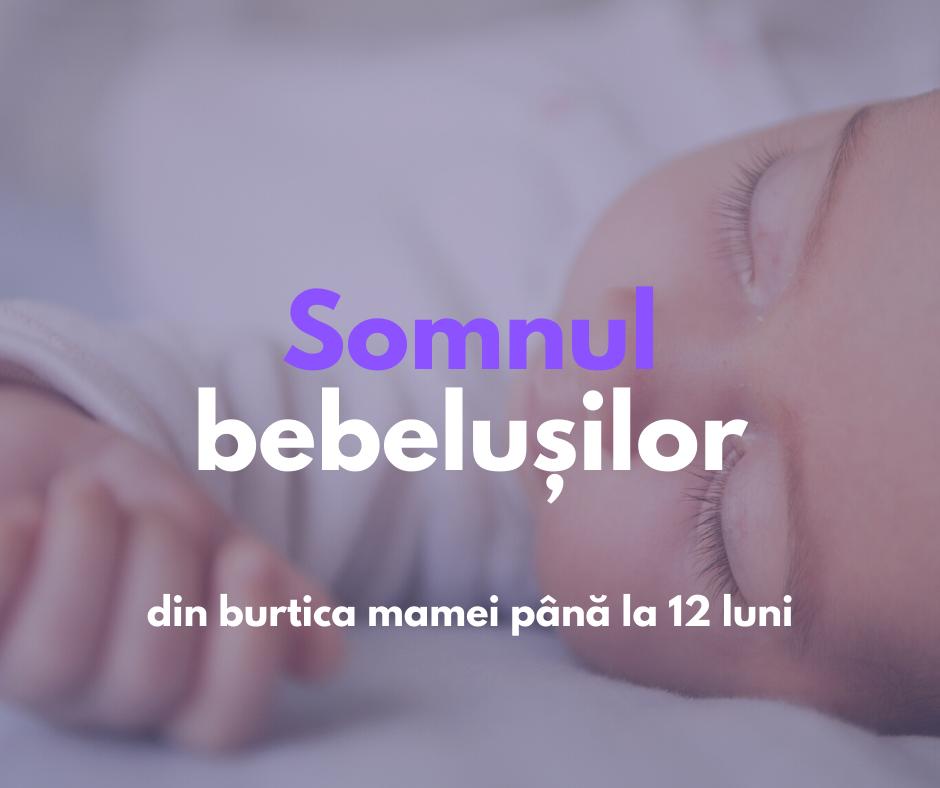"""""""Somnul copilului"""" curs despre somnul bebelușilor"""